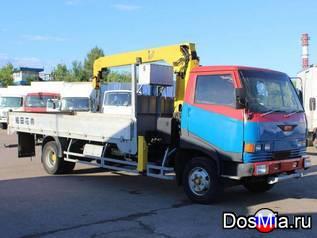 Услуга кран манипулятор в Домодедово Hino Ranger, аренда грузовика.