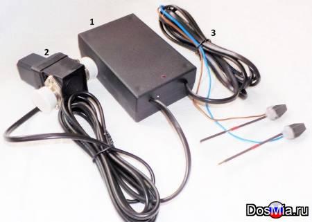 Контроллер полива с датчиком влажности почвы для теплиц