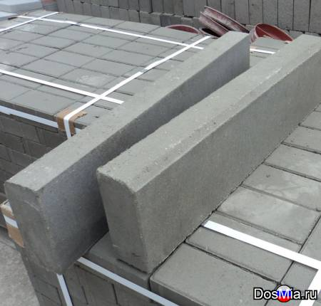 Тротуарный бордюр БР100х20х8