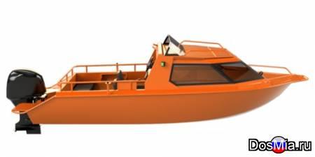 Купить лодку (катер) Berkut S-C (Cabin) Comfort