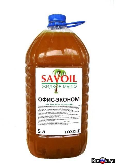 """Жидкое мыло """"офис-эконом"""" 5 литров без запаха и красителя"""