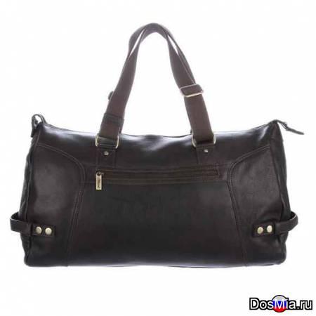 Дорожная сумка Ashwood Duccani Dark Brown