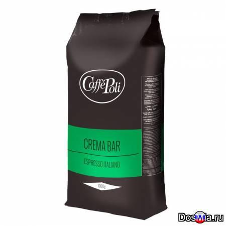 Кофе в зернах Поли Крема Бар 1 кг.