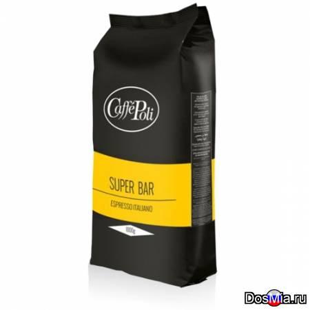 Кофе в зернах Поли Супер Бар 1 кг.