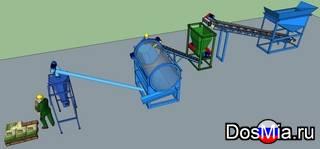 Фермерский комплект оборудования производства удобрений