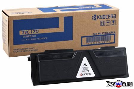 Заправка картриджа Kyocera TK-170 для FS-1320, FS-1370, Ecosys P2135.