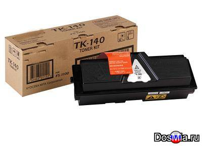 Заправка картриджа Kyocera TK-140 для принтера Kyocera FS-1100, FS-1100N.