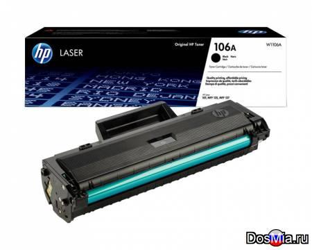Заправка картриджа HP Laser W1106A (106)