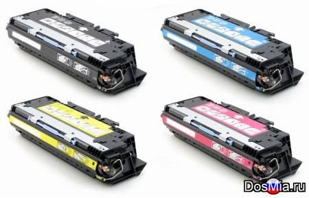 Заправка цветного принтера HP CLJ 3500, HP CLJ 3550