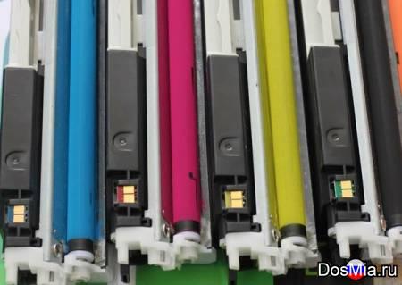 Заправка цветного принтера i-SENSYS LBP7010C / LBP7018C