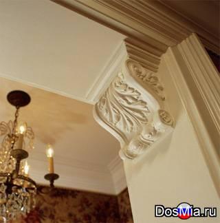 Лепнина из полиуретана для интерьера и фасадов