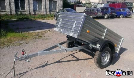 Легковой прицеп МЗСА 817710 с кузовом 185х123 см. и высоким бортом 47 см.