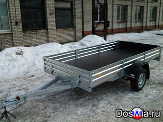 Легковой прицеп МЗСА 817712 для перевозки снегохода, квадроцикла.
