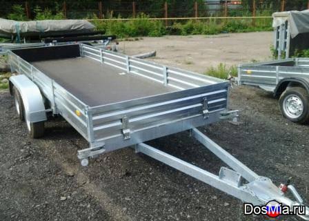 Легковой двухосный прицеп МЗСА 817735 грузоподъемностью 1000 кг.