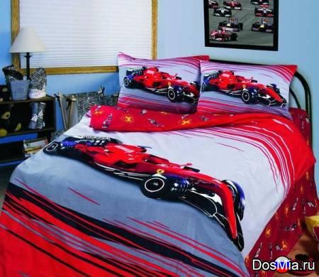 Комплект детского постельного белья из сатина