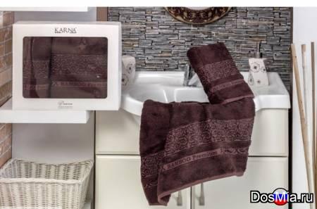 Набор махровые полотенц из бамбукового волокна