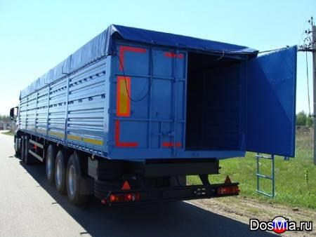 Полуприцеп зерновоз 59 м3 на осях SAF (Германия)