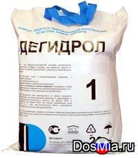 Дегидрол марка 1 - ремонтно-защитный материал на основе цемента