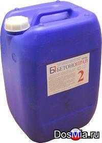Бетоноправ 2 - жидкая добавка для получения коррозионностойких бетонов