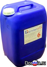 Бетоноправ люкс марка 6 жидкий противоморозный