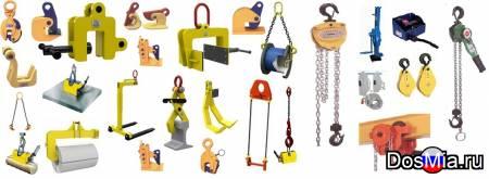 Захваты различных типов с оптового склада