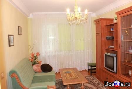 Квартира 1-к на час, ночь, посуточно на ул. 50 лет октября, 5.