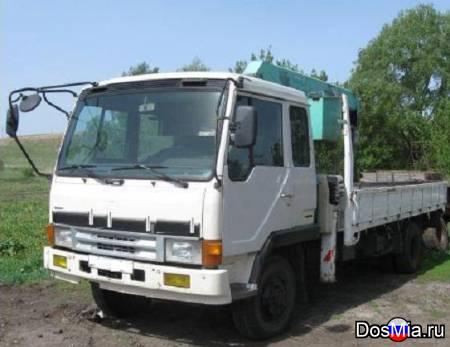 Перевозка грузов манипулятором со стрелой 4-7,5 тонн.