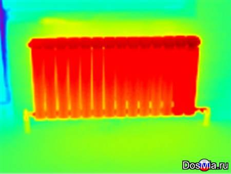 Тепловизионное обследование, услуги тепловизора.
