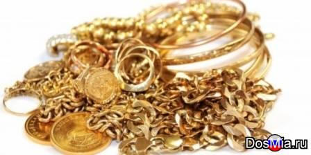 Покупаем ювелирные украшения из золота и серебра в с. Большеустьикинское.