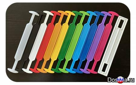 Пластиковые ручки для коробок и упаковки из картона