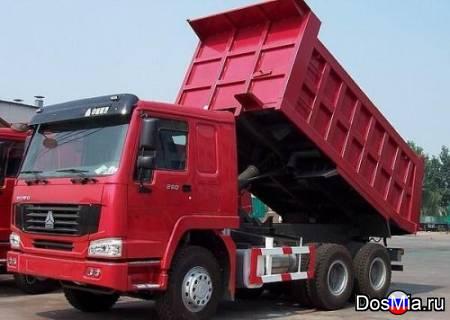 Вывоз грунта и строительного мусора самосвалом в Москве