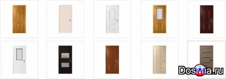 Широкий выбор пластиковых межкомнатных дверей для дома и офиса