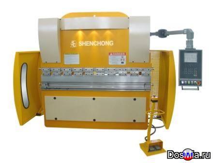 WE67K-63т2500 гидравлический листогибочный пресс с ЧПУ из Китая
