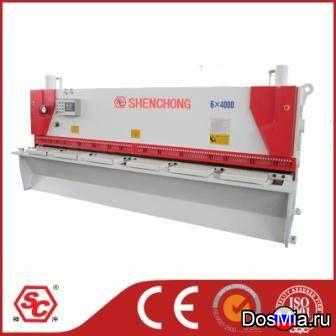 QC11Y-6x4000 гильотинные ножницы гидравлические из Китая