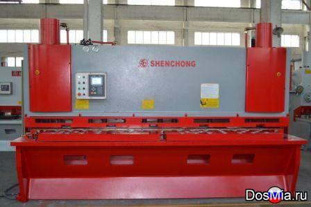 Продам гильотину гидравлическую 12x3200 из Китая