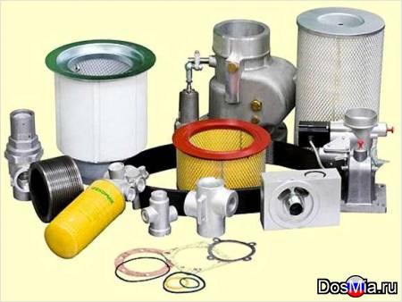 Продажа запасных частей к поршневым и винтовым компрессорам