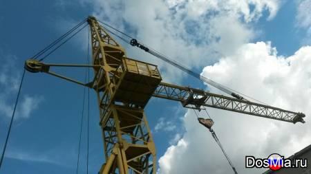 Аренда башенного крана КБ-408.21(02) 2006 г. в. грузоподъемностью 10 т.