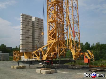 Сдам в аренду быстромонтируемый башенный кран Liebherr 71 K