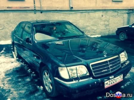 Продам Mercedes S500, W140, 1998 г. в., пробег 239000 км., синий, 4973 см3.