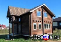 Строительство деревянных домов из массива
