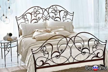 Кованые кровати и мебель
