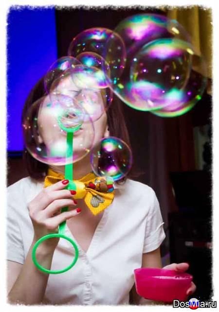 Шоу мыльных пузырей в Москве и Московской области