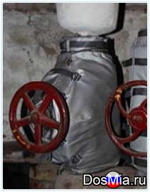 Защитные и термочехлы для фланцевых соединений, трубопроводной арматуры.