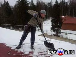 Услуги по очистке снега и наледей