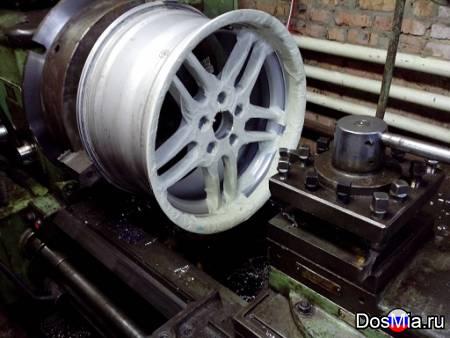 Расточка центрального отверстия дисков