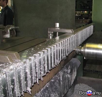 Изготовление зубчатых реек