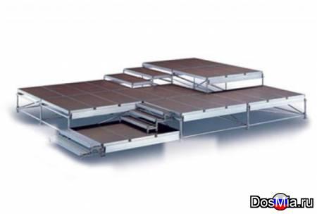 Сцены подиум из металлического и алюминиевого профиля