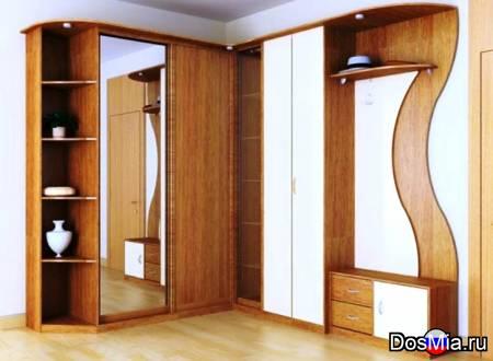 Изготовим и установим любой шкафы-купе по индивидуальным размерам и проекту