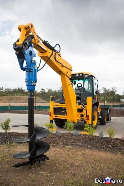 Бур DRD Rock Drill-6 (Англия) для экскаваторов погрузчиков массой 5-10 тонн