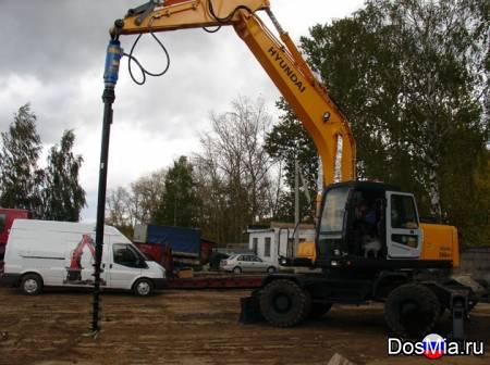 Буровое оборудование DRD-20 (Англия) для экскаваторов 13-40 тонн